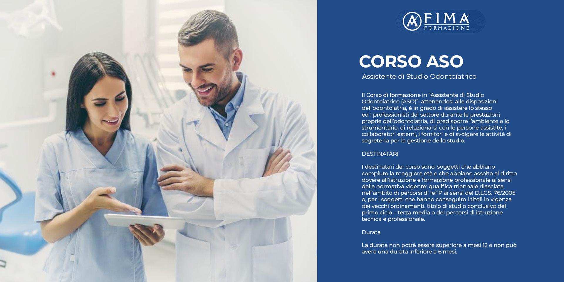 Corso ASO - Assistente Studio Odontoiatrico Messina