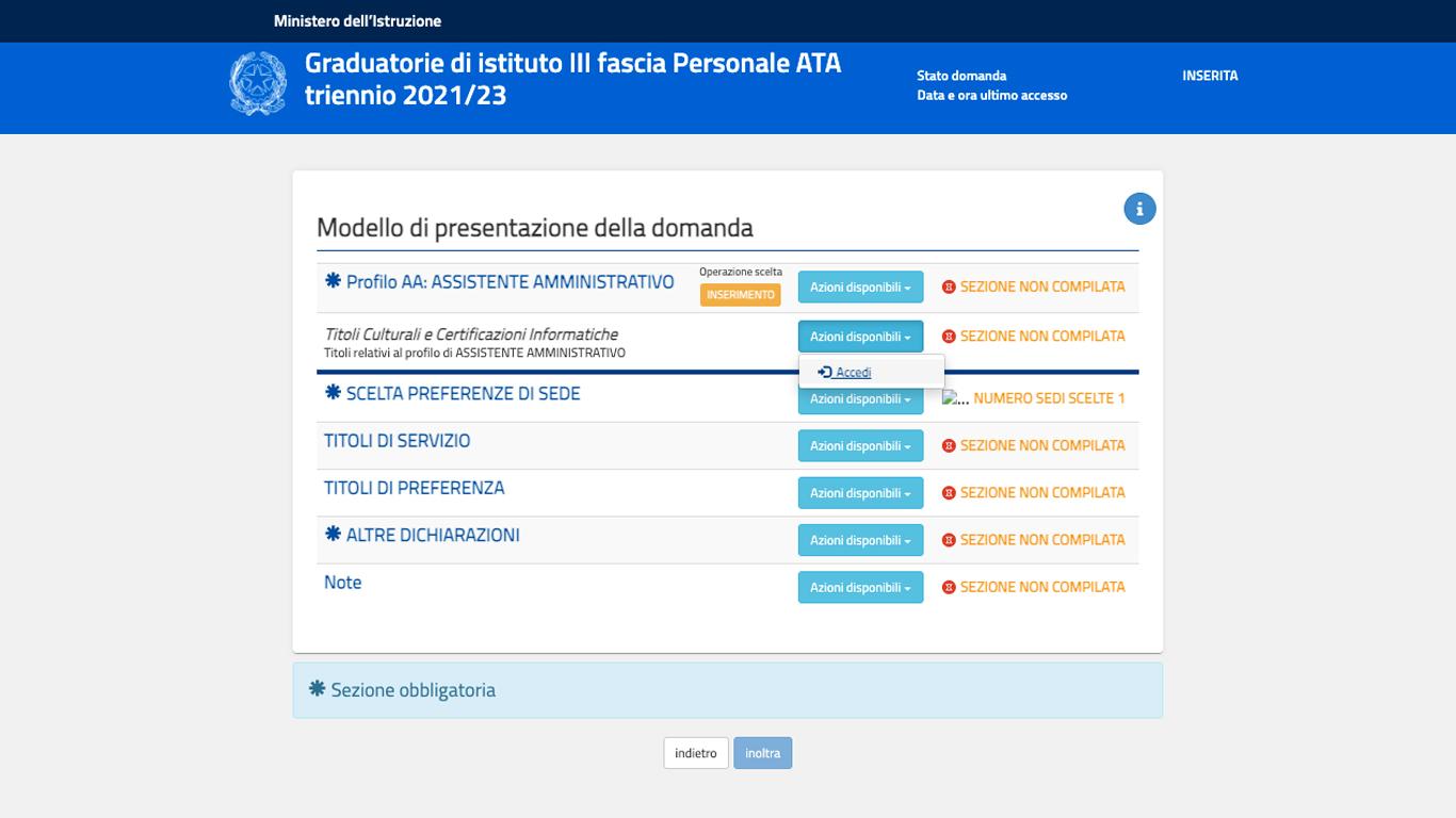 Come inserire i titoli Eipass nelle graduatorie ATA III fascia